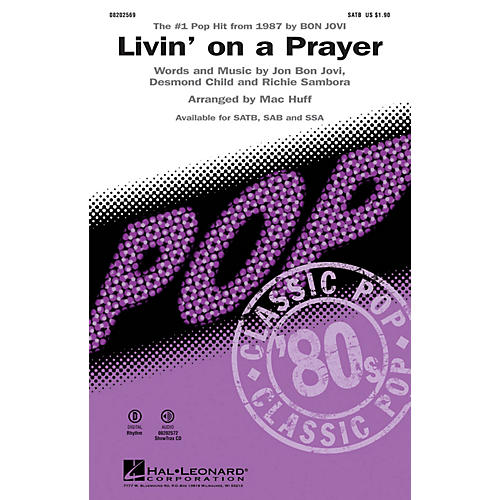 Hal Leonard Livin' on a Prayer ShowTrax CD by Bon Jovi Arranged by Mac Huff-thumbnail