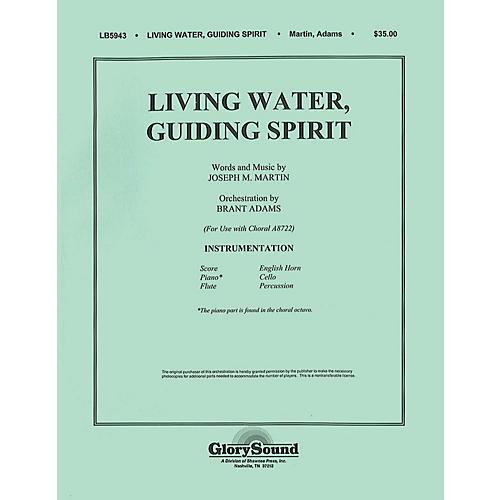 Shawnee Press Living Water, Guiding Spirit Score & Parts composed by Joseph M. Martin-thumbnail