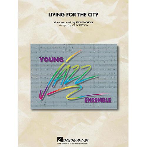 Hal Leonard Living for the City Jazz Band Level 3 Arranged by John Wasson-thumbnail