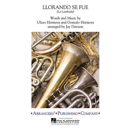Arrangers Llorando Se Fue (La Lambada) (Scored with reduced instrumentation) Concert Band Level 2 by Jay Dawson-thumbnail
