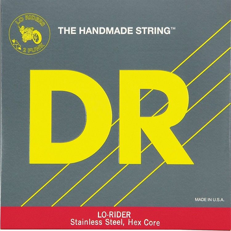 DR Strings Lo Rider H-120 Low B 5th Bass String