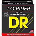 DR Strings Lo Rider MH5-45 Medium Stainless Steel 5-String Bass Strings .125 Low B thumbnail