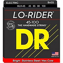 DR Strings Lo Rider MLH-45 Medium Lite Stainless Steel 4-String Bass Strings