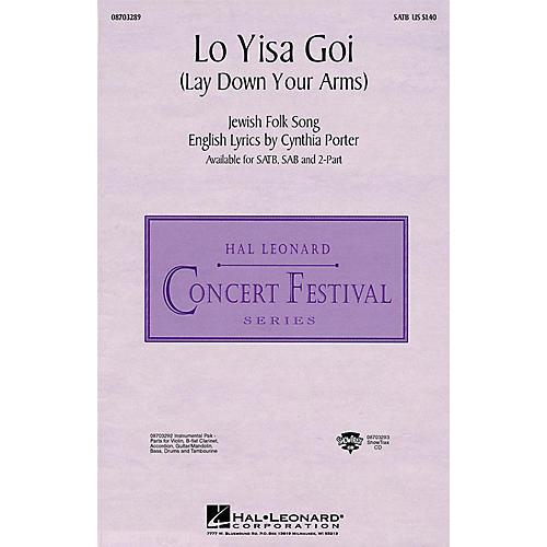 Hal Leonard Lo Yisa Goi (Lay Down Your Arms) ShowTrax CD Arranged by Ed Lojeski