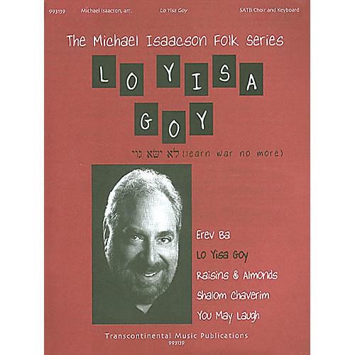 Transcontinental Music Lo Yisa Goy (Learn War No More) SATB arranged by Michael Isaacson-thumbnail