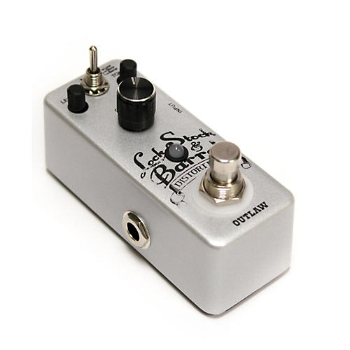 Outlaw Effects Lock-Stock-Barrel Guitar Distoriton Pedal-thumbnail