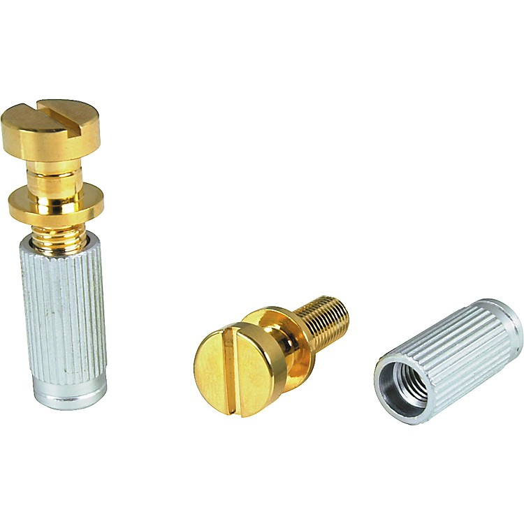 TonePros Locking Studs-US Thread Gold