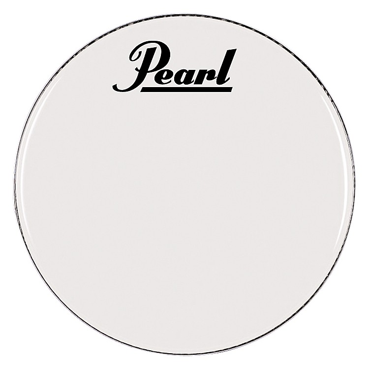 Pearl Logo Marching Bass Drum Heads 28 Inch