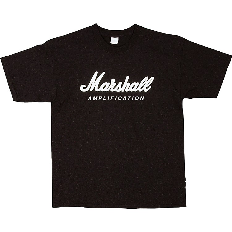 Marshall Logo T-Shirt Black Extra Large