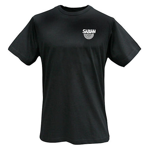 Sabian Logo T-Shirt, Black X-Large