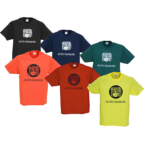 Electro-Harmonix Logo T-Shirt Yellow Medium