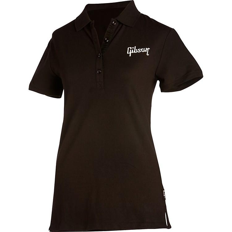 GibsonLogo Women's Polo ShirtBlackX Large