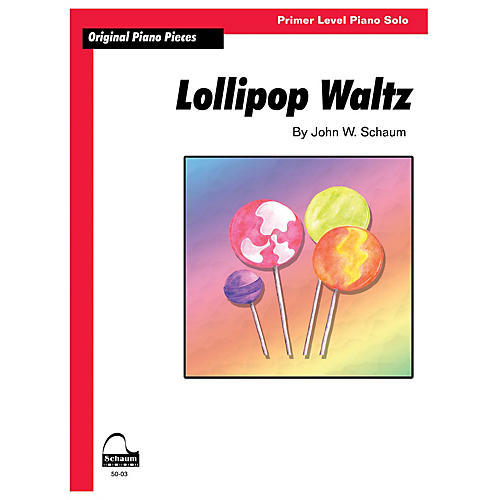 SCHAUM Lollipop Waltz Educational Piano Book by John W. Schaum (Level Primer)-thumbnail