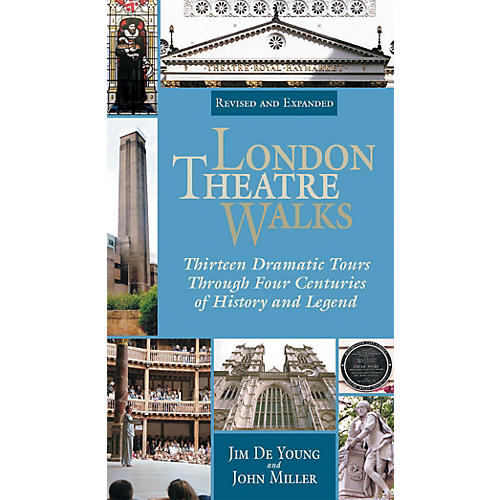 Applause Books London Theatre Walks - Revised & Expanded Edition Applause Books Series Softcover Written by Jim De Young-thumbnail