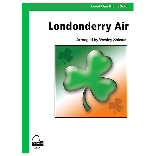 SCHAUM Londonderry Air (Level 1 Elementary Level) Educational Piano Series Softcover-thumbnail