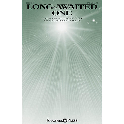 Shawnee Press Long-Awaited One SAB arranged by Douglas Nolan-thumbnail