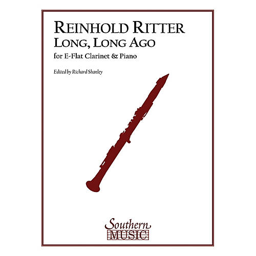 Southern Long, Long Ago, Op. 12 (E-Flat Clarinet) Southern Music Series Arranged by Richard Shanley-thumbnail