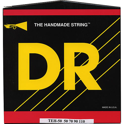 DR Strings Long Necks Taper Core 4 String Bass Heavy (50-110)