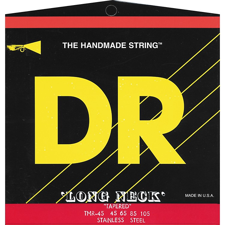 DR Strings Long Necks Taper Core Medium 4-String Bass