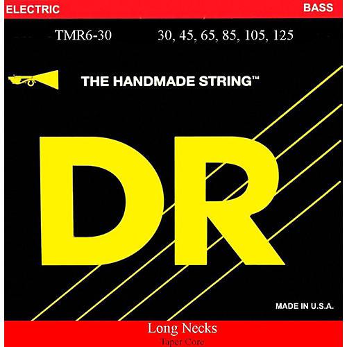 DR Strings Long Necks Taper Core Medium 6-String Bass Strings