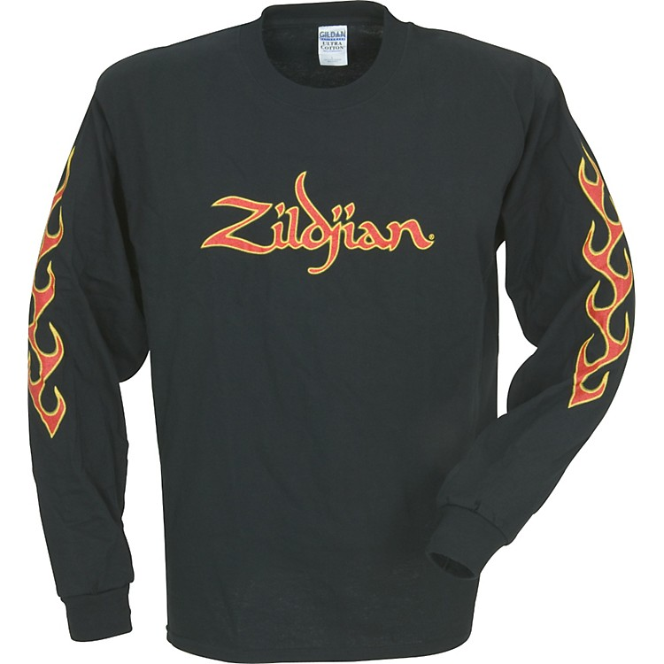 Zildjian Long-Sleeve Fire T-Shirt