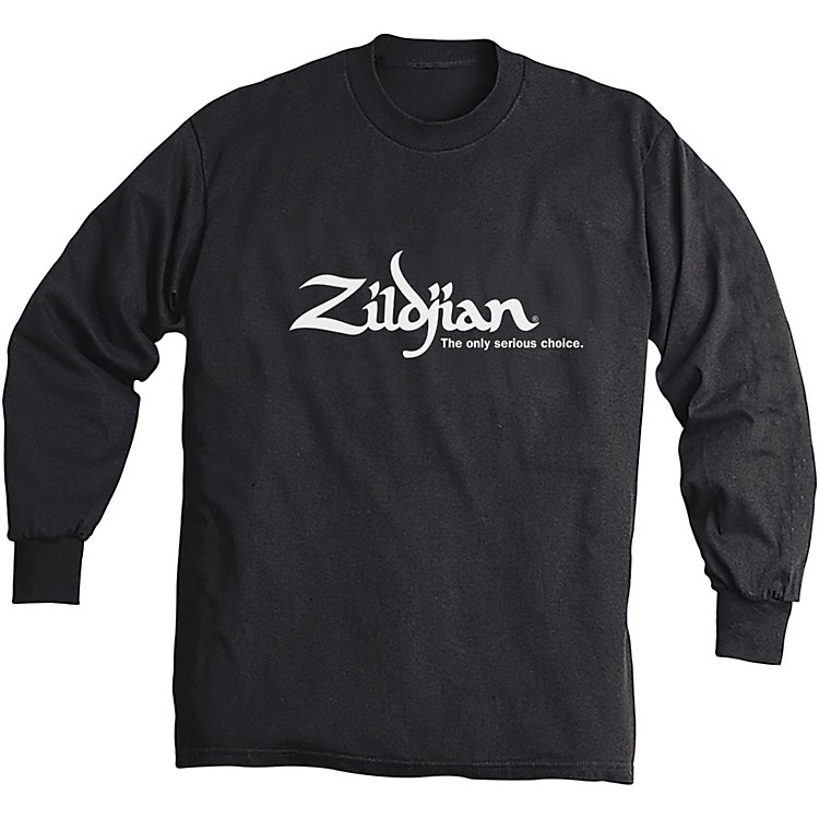 Zildjian Long Sleeve Shirt Black Medium