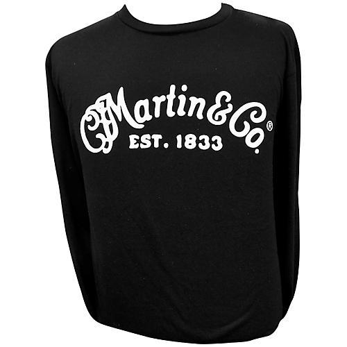 Martin Long Sleeve Signature T-Shirt X Large Black