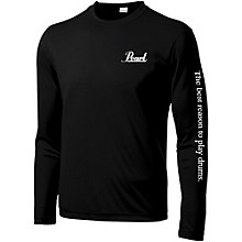 Pearl Long Sleeve Wicking Tee Small Black