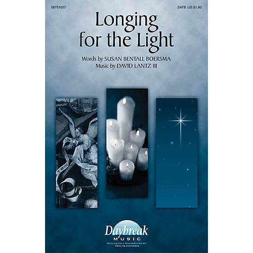 Daybreak Music Longing for the Light SATB composed by David Lantz III-thumbnail