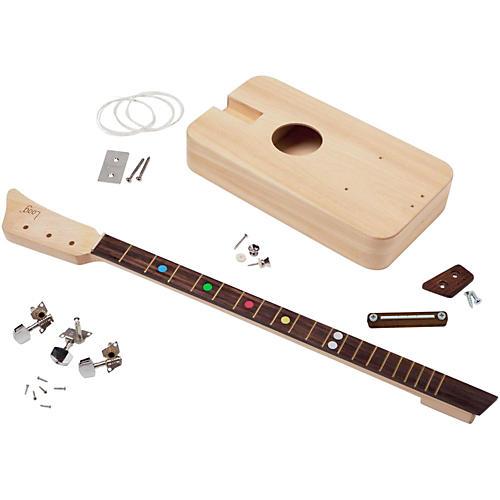 loog guitars loog i acoustic guitar kit musician 39 s friend. Black Bedroom Furniture Sets. Home Design Ideas