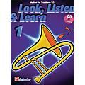 Hal Leonard Look, Listen & Learn - Method Book Part 1 (Trombone (T.C.)) De Haske Play-Along Book Series-thumbnail