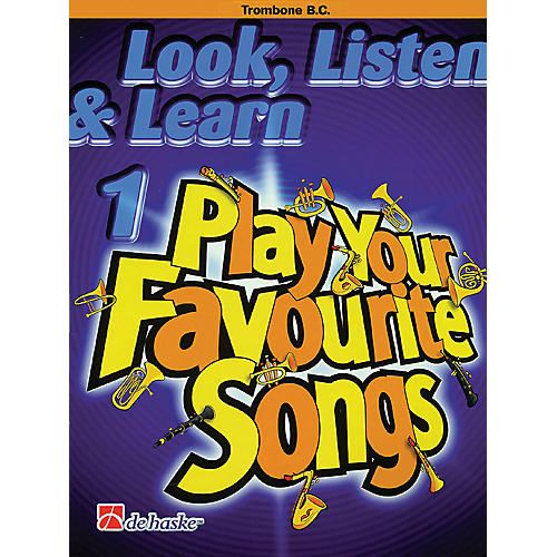 De Haske Music Look, Listen & Learn 1 - Play Your Favourite Songs De Haske Play-Along Book Series by Philip Sparke