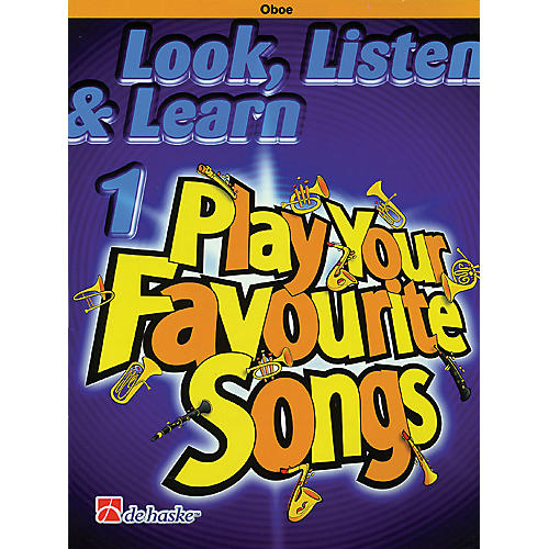 De Haske Music Look, Listen & Learn 1 - Play Your Favourite Songs De Haske Play-Along Book Series by Philip Sparke-thumbnail