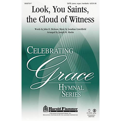Shawnee Press Look, You Saints, the Cloud of Witness SATB arranged by Joseph M. Martin-thumbnail