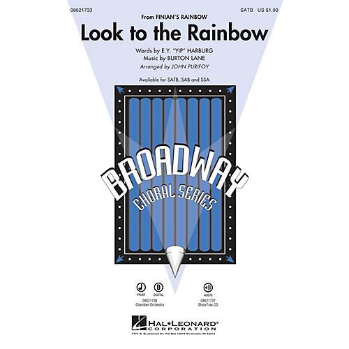 Hal Leonard Look to the Rainbow (from Finian's Rainbow) SATB arranged by John Purifoy-thumbnail