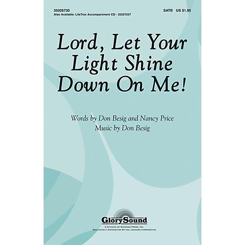 Hal Leonard Lord Let Your Light Shine Down On Me SATB