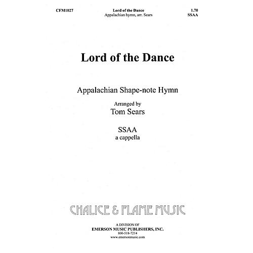 Hal Leonard Lord of the Dance SSAA composed by Tom Sears