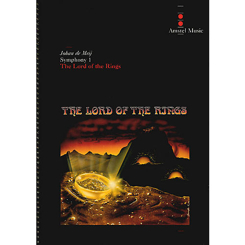 Amstel Music Lord of the Rings, The (Symphony No. 1) - Complete Edition Concert Band Level 5-6 by Johan de Meij-thumbnail