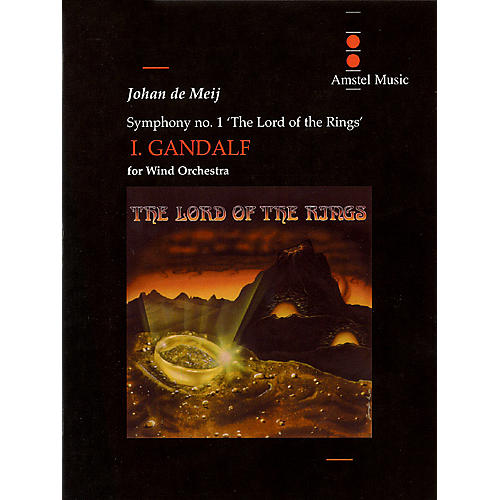 Amstel Music Lord of the Rings, The (Symphony No. 1) - Gandalf - Mvt. I Concert Band Level 5-6 by Johan de Meij-thumbnail