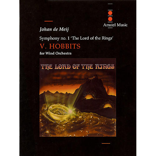 Amstel Music Lord of the Rings, The (Symphony No. 1) - Hobbits - Mvt. V Concert Band Level 5-6 by Johan de Meij-thumbnail