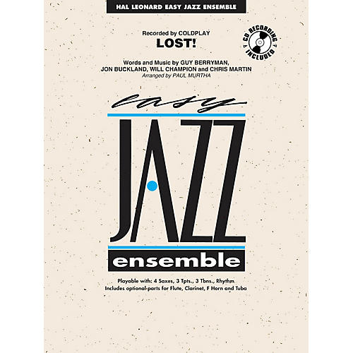 Hal Leonard Lost! Jazz Band Level 2 Arranged by Paul Murtha