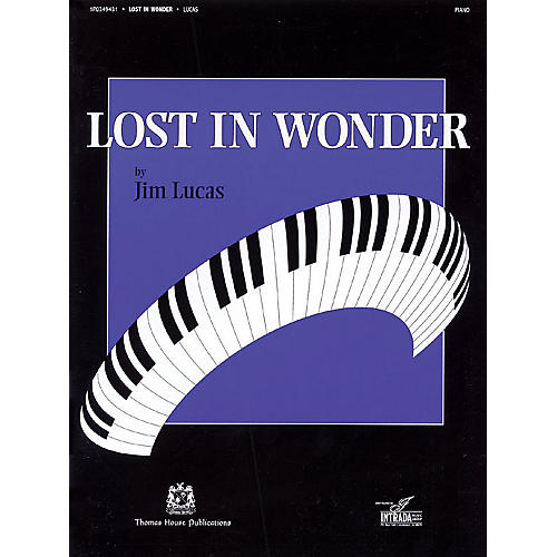 Thomas House Publications Lost in Wonder (for the Intermediate Pianist)-thumbnail