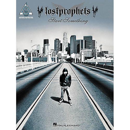 Hal Leonard Lostprophets - Start Something Book-thumbnail