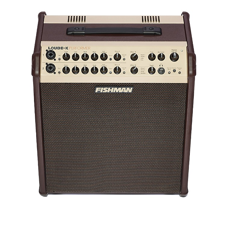 FishmanLoudbox Performer 180W Acoustic Guitar Combo Amp with EffectsBrown