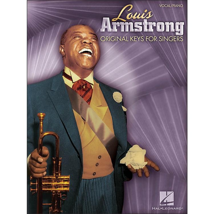 Hal LeonardLouis Armstrong - Original Keys for Singers (Vocal / Piano)
