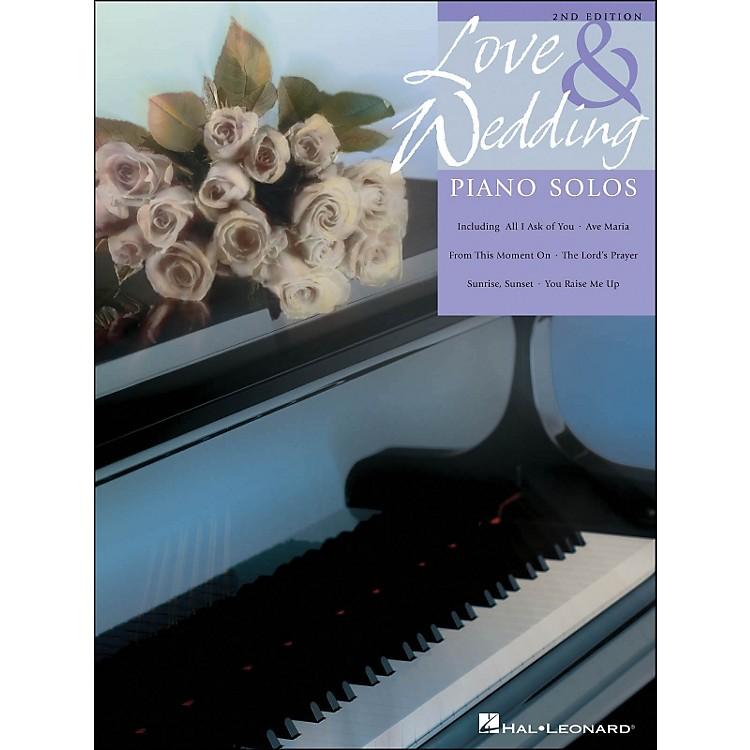 Hal LeonardLove And Wedding Piano Solos