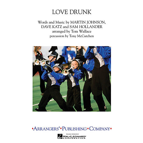Arrangers Love Drunk Marching Band Level 3 by Boys Like Girls Arranged by Tom Wallace-thumbnail