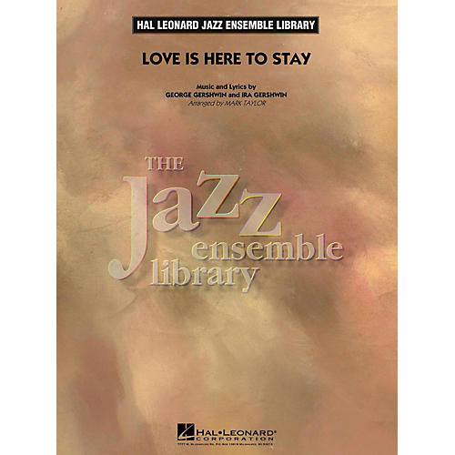 Hal Leonard Love Is Here To Stay Jazz Band Level 4-thumbnail