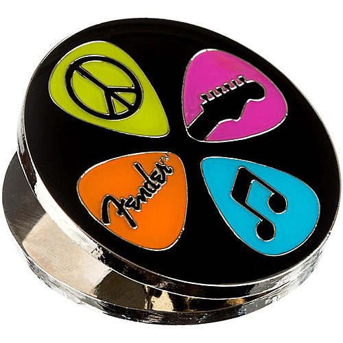 Fender Love Peace and Music Magnet Clip-thumbnail
