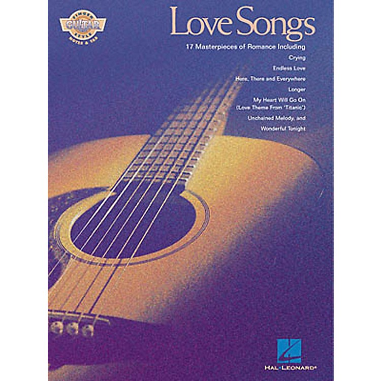 Hal Leonard Love Songs Fingerstyle Guitar Tab Songbook